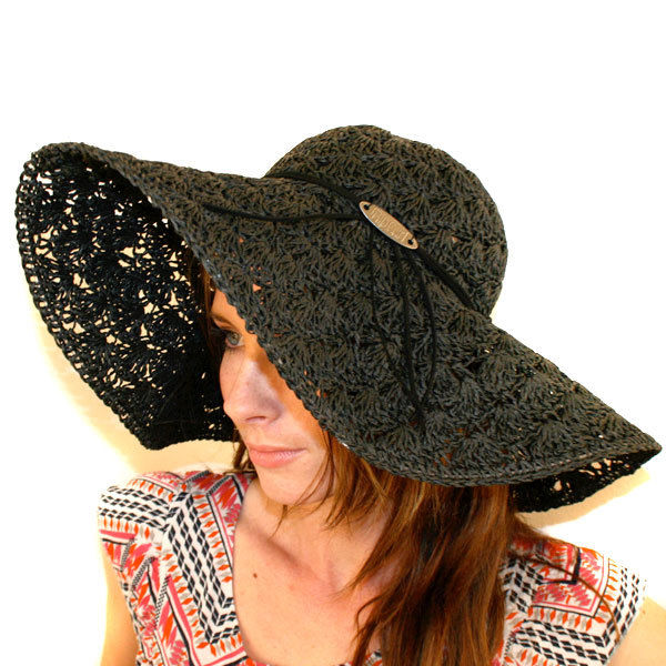 RIP Curl Ladies Starry Nights Boho Woven Floppy Hats BLK NAT RRP $35 99 | eBay