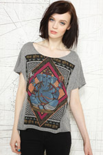 Title Unknown Ganesh High Low Tee at Urban Outfitters
