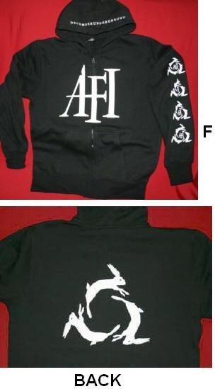 AFI - December Underground Zipper Hoodie
