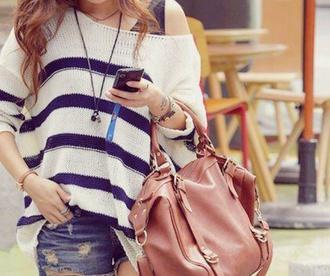 bag purse brown purse large