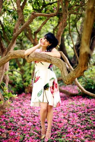 bag shoes dress the cherry blossom girl