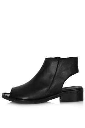 KEEPSAKE Peep Toe Boots - Topshop