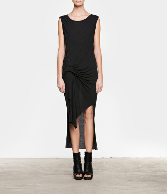 Riviera Jersey Dress | Womens Dresses | AllSaints ($148.00) - Svpply