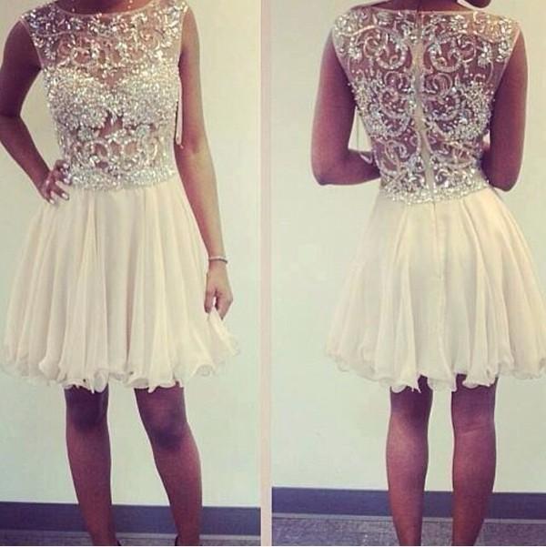 dress white sequin dress