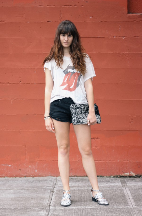 the mop top t-shirt bag shoes shorts