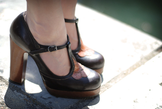 leeloo brown shoes shoes