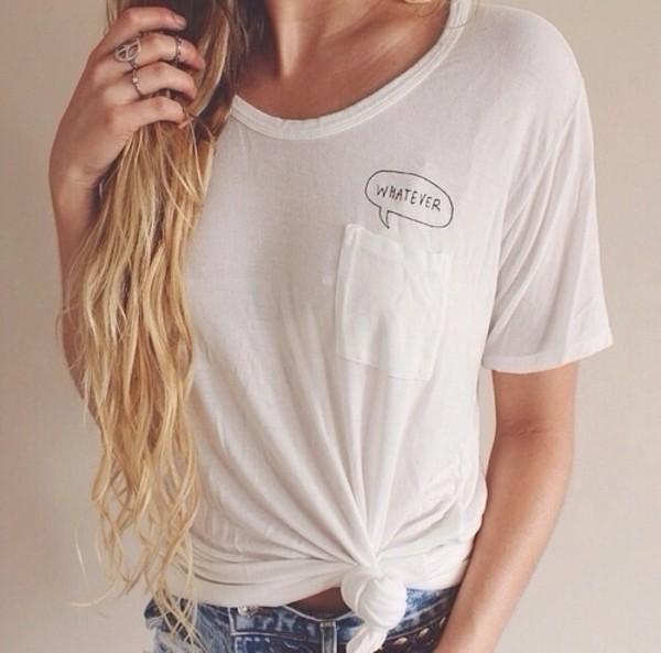 t-shirt whatever pocket t-shirt