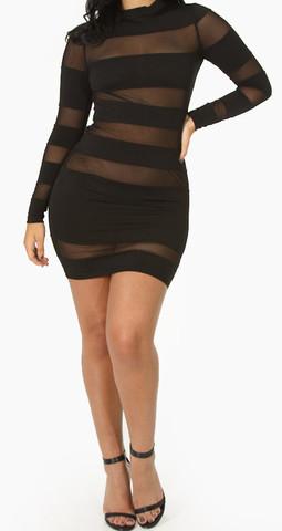 Crazy Mesh Dress (crazy mesh dress) | Dresses | Jaydes Boutique