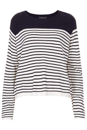 Tall Knitted Stripe Jumper - New In This Week  - New In  - Topshop USA