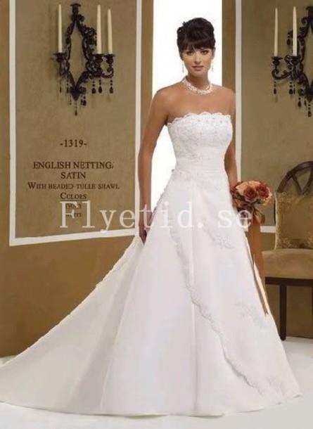 dress bröllopsklänningar