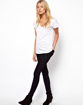 ASOS | ASOS T-Shirt with V Neck at ASOS