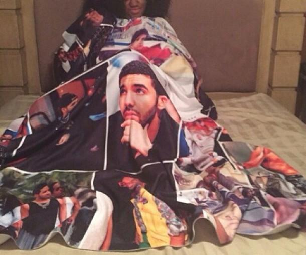 drake blanket home accessory