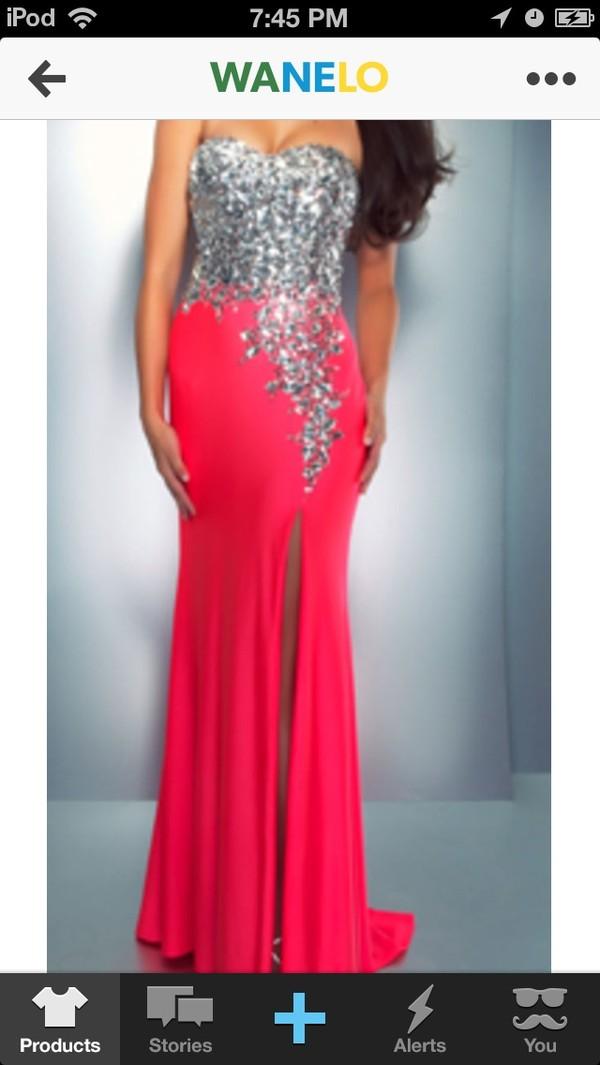 dress hot pink hot pink prom dress prom dress long prom dress homecoming dress prom dress homecoming dress sequin dress hot pink dress