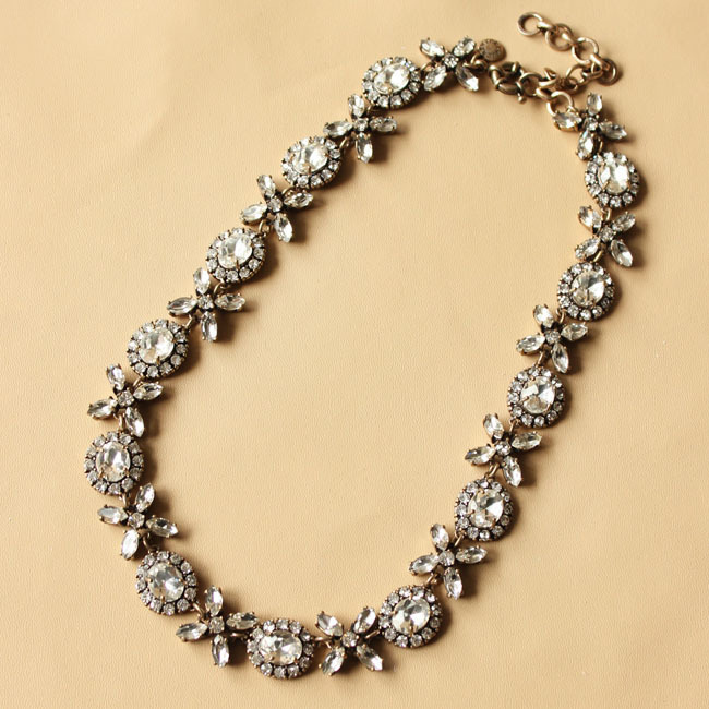 Aliexpress.com : Buy New Arrival Free Shipping  fashion jewelry crystal chunky luxury chain choker statement pandant necklace for women jewelry from Reliable necklace wholesaler suppliers on Shourouk Jewelry store