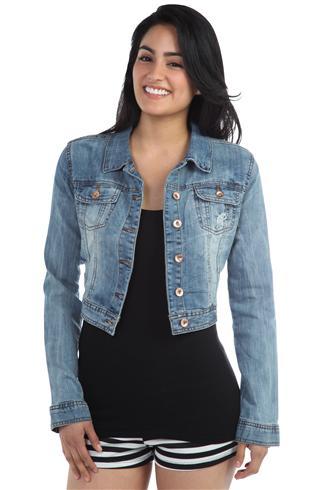 Ymi Light Vintage Denim Jacket