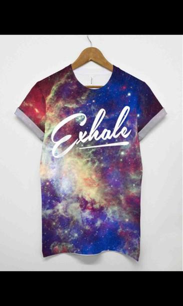quote on it galaxy shirt amzing peri.marie printed t-shirt