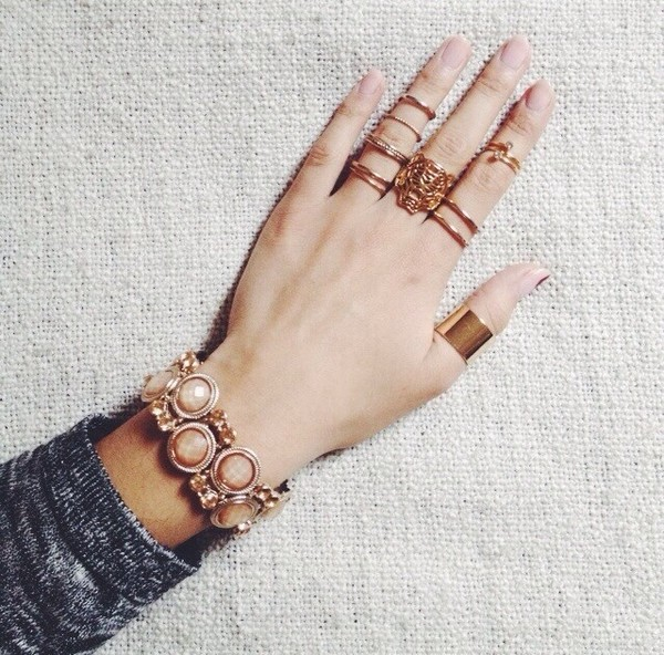 jewels ring jewelry gold hand jewelry knuckle ring kenzo