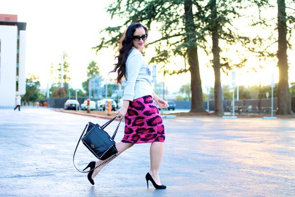 ktr style t-shirt sweater skirt shoes bag
