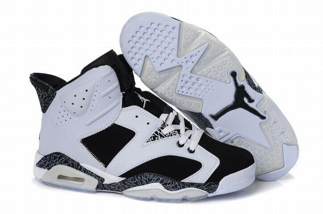 air jordan 6 retro white black men discount