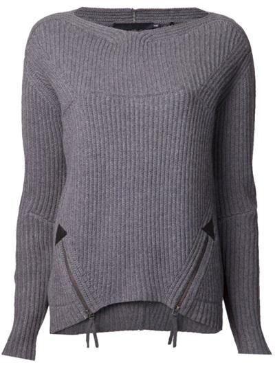 L.a.m.b. Zip Front Sweater - Haven - Farfetch.com