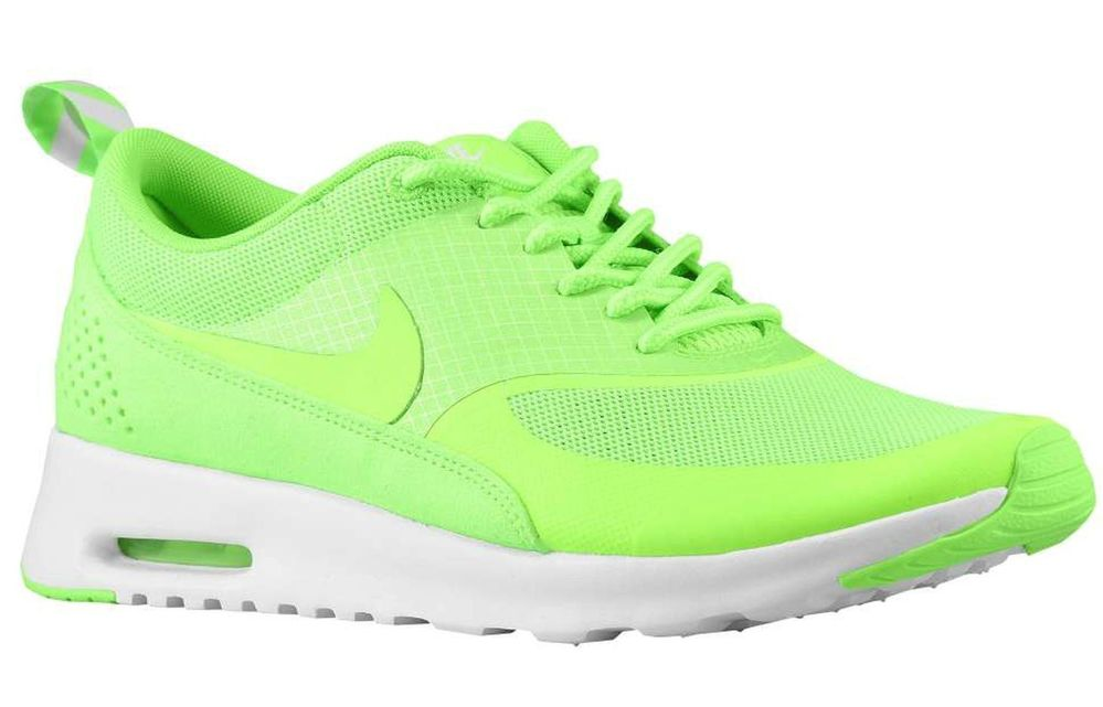 NIKE AIR MAX THEA FLASH LIME WOMEN'S LIGHT COMFORT RUNNING SHOE BRAND NEW IN BOX | eBay