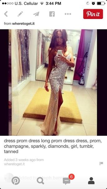 dress nude dress sparkly dress prom dress