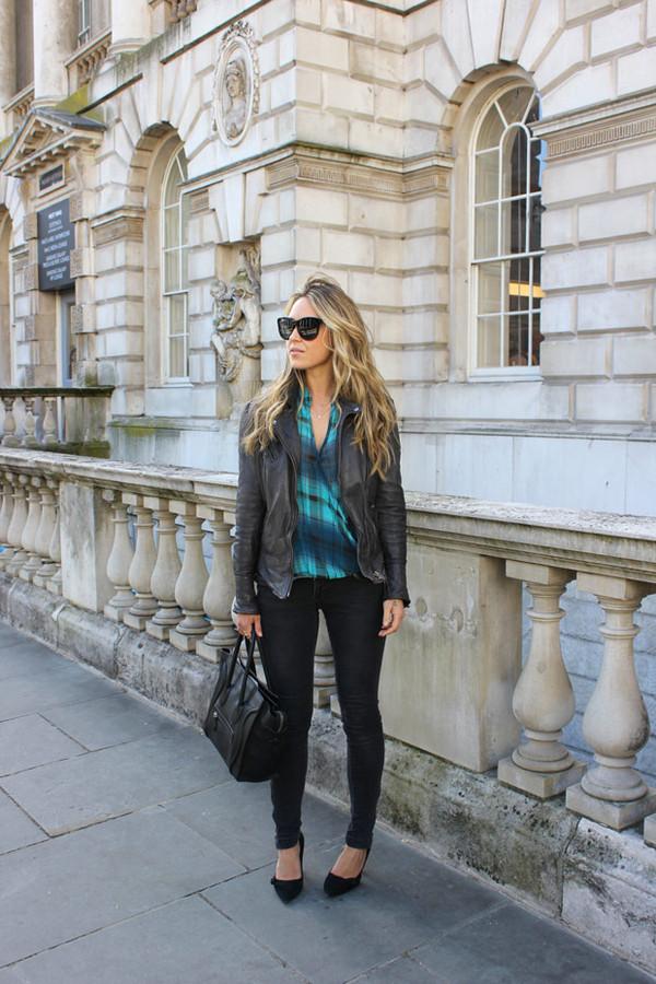 a fashion love affair shirt jeans jacket shoes bag