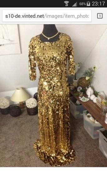 dress sequin dress gold sequins gold dress long prom dress prom dress sequin prom dress sequins