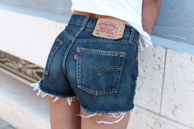 Original 520 Levi's Shorts - Arad Denim