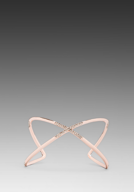 HOUSE OF HARLOW Sound Waves Cuff in Rose Gold at Revolve Clothing - Free Shipping!