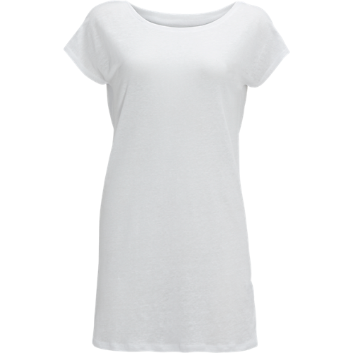 Linen Tee Wit - The Sting