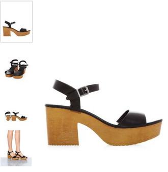 shoes wedges platform shoes heels wood grunge soft footwear pleather faux
