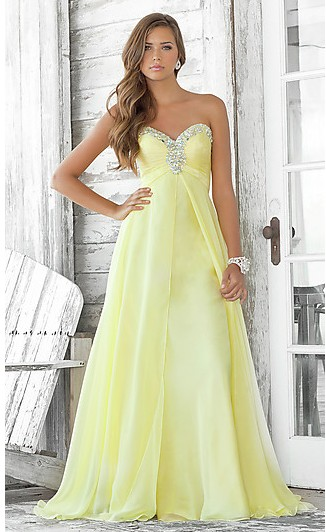 Long Strapless Sweetheart Prom Dress【Donhot Prom Dresses 】-Fashion and More-Wholesale Fashion Apparel-Donhot.com
