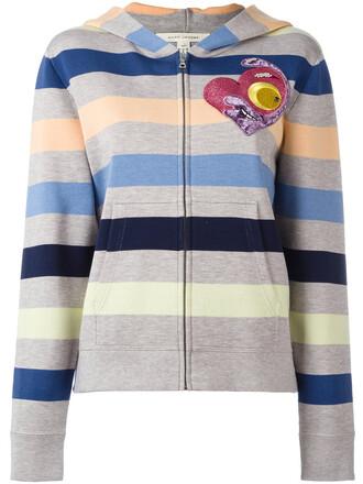 cardigan women cotton wool grey sweater