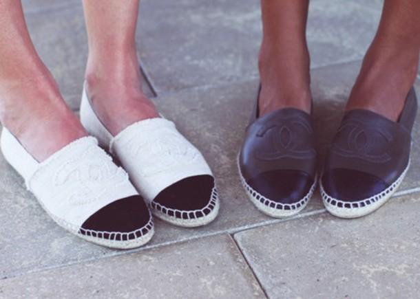shoes summer shoes espadrilles espadrilles chanel