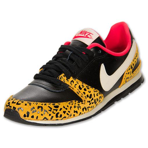 Nike Eclipse II Women's Casual Shoes| FinishLine.com | Black/Leopard/Pink