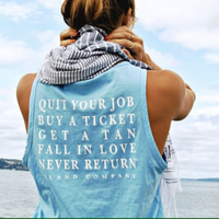 QUOTE BLUE SHIRT on The Hunt