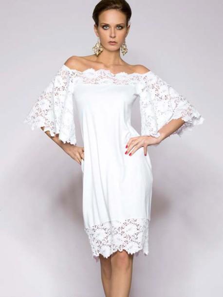 dress rebecca2015 clothes white dress bikini summer dress swimwear beach beach dress