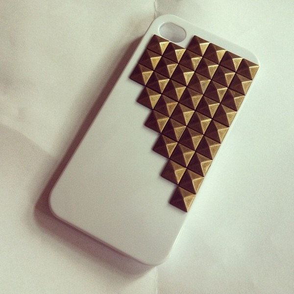 jewels iphone iphone case phone cover studs