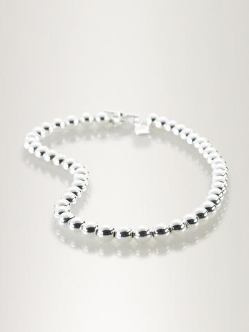 Silver-Plated Ball Necklace - Jewelry  Women - RalphLauren.com