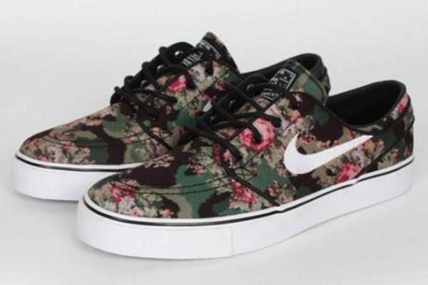 shoes nike nike sb nike sb floral nikes