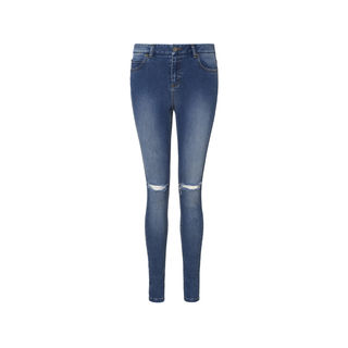 Distressed Maysa Mid Wash Jean, Denim | WHISTLES