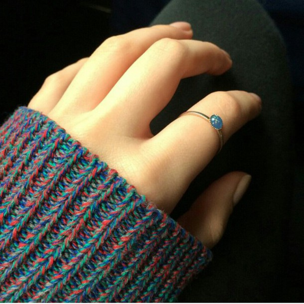 sweater colorful cozy