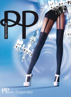 Pretty Polly Suspender Tights - Tights, Stockings, Shapewear  MyTights.com - The Online Hosiery Store