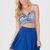 Tiffany Skater Skirt - Blue on Wanelo