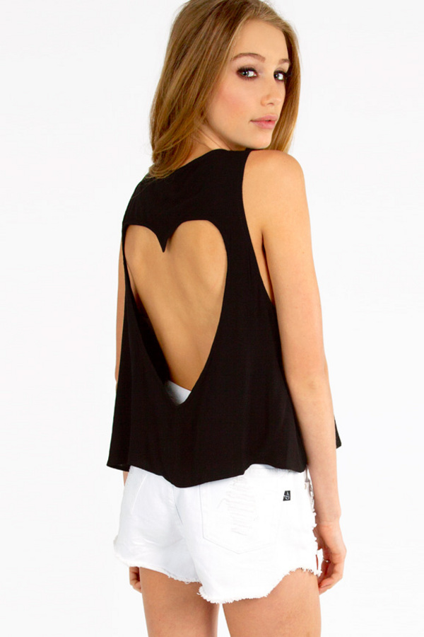 Back That Heart Up Tank - TOBI