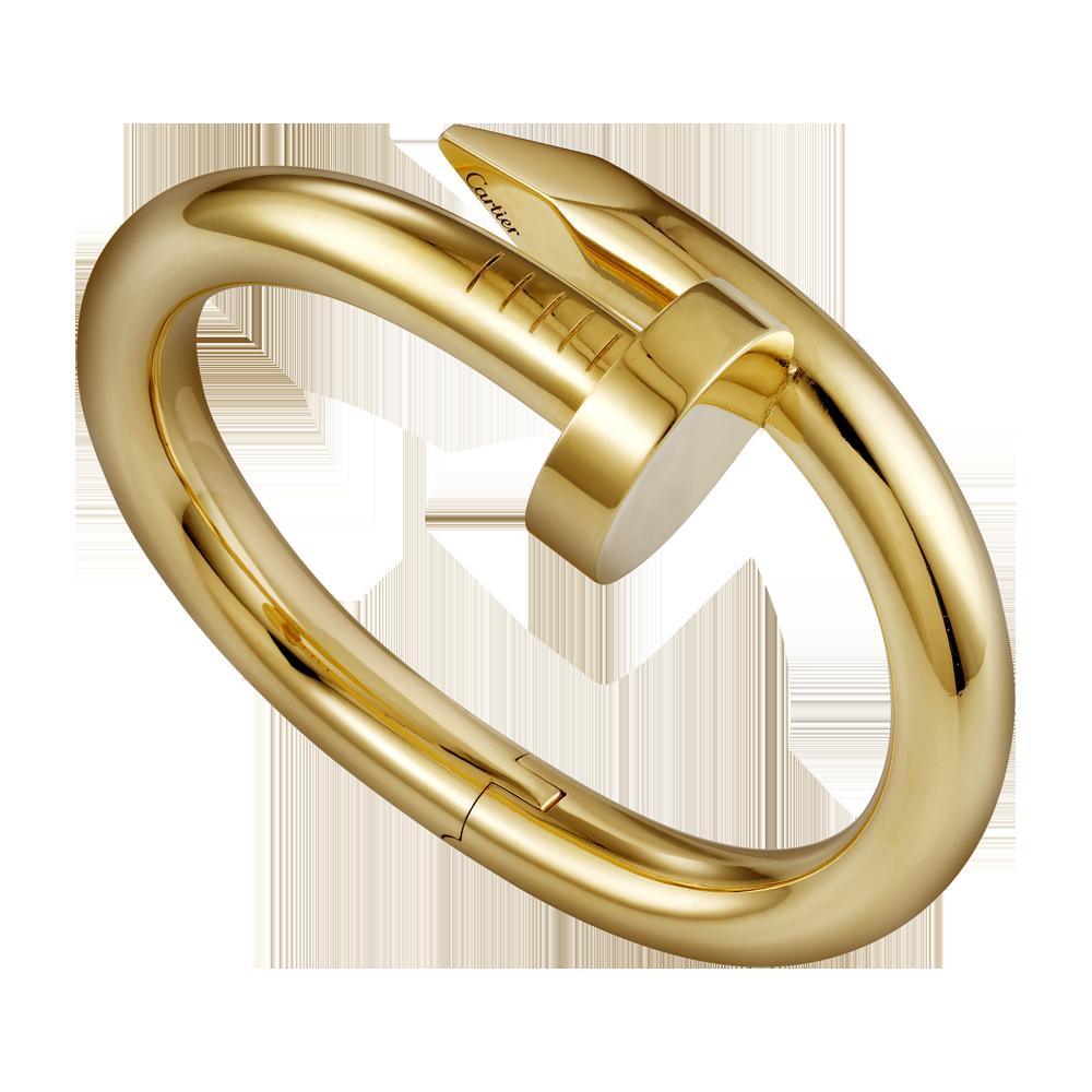 Juste un Clou bracelet, extra large model - Yellow gold - Fine Bracelets for women -  Cartier