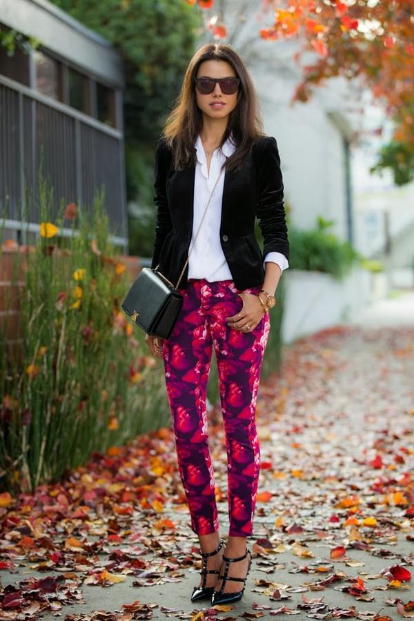 viva luxury pants jacket shoes blouse bag sunglasses jewels