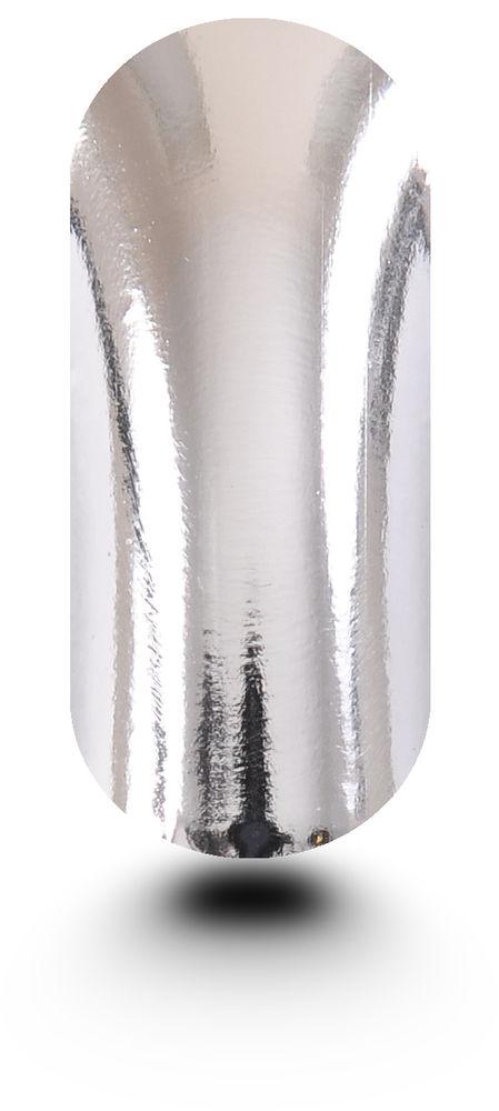 Nail Wraps Nail Foils Nail Art Metallic Silver | eBay