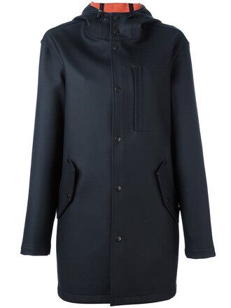 coat women cotton black